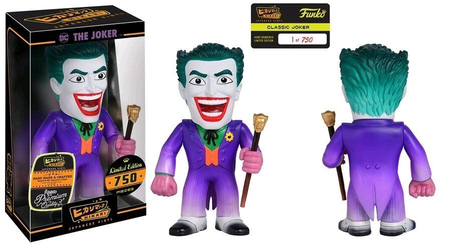 FUNKO Hikari DC Batman El Guasón Classic 9  Vinilo Japonés SOFUBI solo 750