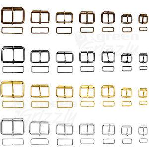 META-039-SINGOLO-Rullo-Fibbie-FILO-formata-e-cintura-loop-diverse-dimensioni-e-colori
