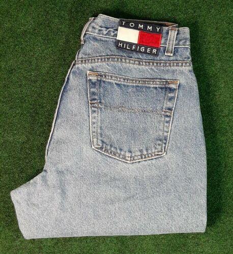Vintage Tommy Hilfiger Big Patch Denim Jeans