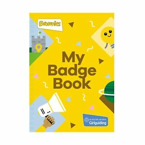 Girl-Guiding-Brownies-Badge-Book-NEW-official-product