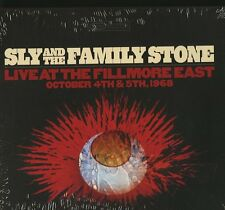 SLY AND THE FAMILY STONE LIVE AT THE FILLMORE EAST OCTOBER 4TH & 5TH 1968 4 CD !