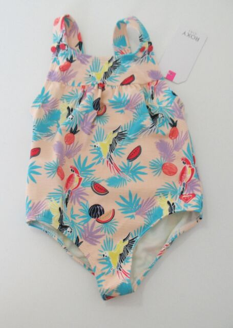 Roxy Girls Vintage Tropical One Piece Swimsuit