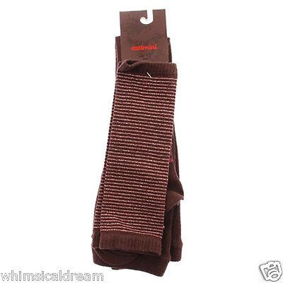 Catimini girls sweet tights & leg warmers 27/30  4 - 6 years NWT
