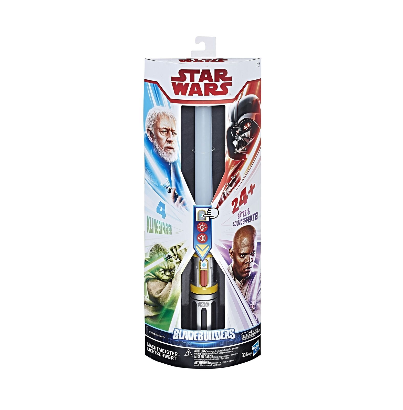 Hasbro Star Wars E2512100 Lightsaber Star Wars Master of the Force Fancy Dr... .