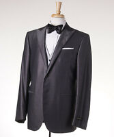 $2295 Corneliani Three-piece Silvery Gray Wool-silk Tuxedo 42 R Suit on sale