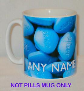 Mr Viagra Blue Pill Paradoy Adult Fridge Magnet or Keyring