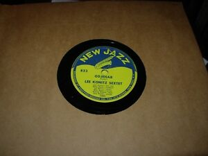 LEE-KONITZ-odjenar-indian-summer-jazz-78-rpm-nj-853