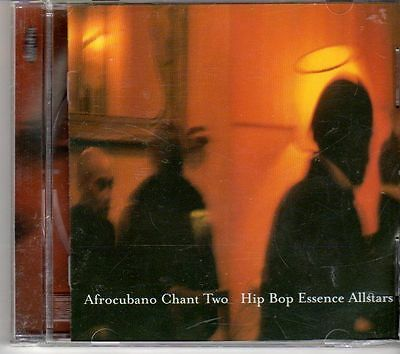 (dx191) Hip Bop Essence Allstars, Afrocubano Chant Two - 2000 Cd