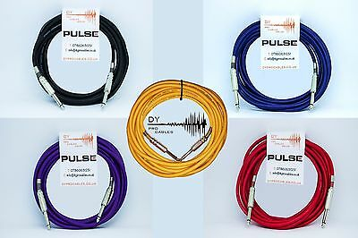 """Streng 6.35mm 1/4"""" Jack Low Noise Guitar/bass/keybaord/instrument Cable 