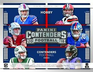 2018-Panini-Contenders-Football-Cards-Team-Set-With-Inserts-Pick-From-List