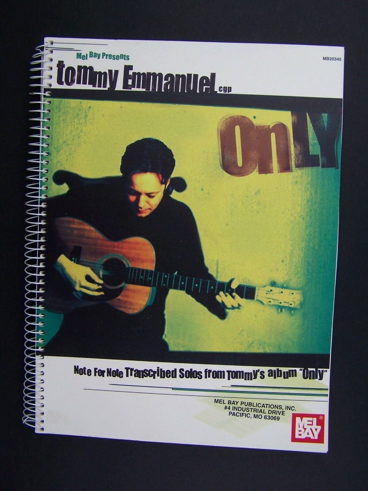Mel Bay Tommy Emmanuel Note for Note Transcribed Solos