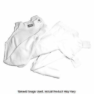 White RJS Safety 800010004 Bottom and Top Nomex Underwear Set Medium Size