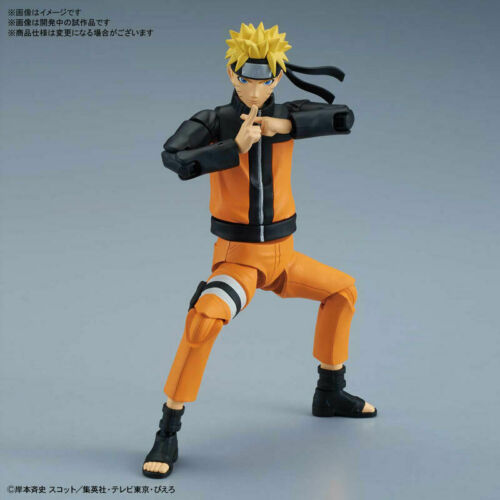 Figure-rise Standard Naruto Uzumaki NARUTO Shippuden Model Kit Bandai Japan NEW*