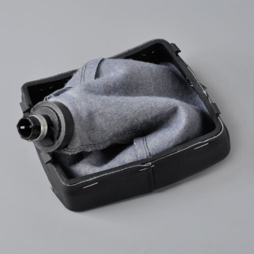 Neu 5 Gang Schaltknäufe Schaltsack Gear Shift Knob für VW Polo 9N//9N3 2003-2008