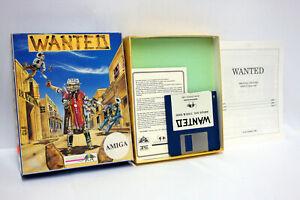 WANTED-INFOGRAMES-1988-AMIGA-OCS-COMMODORE-USATO-WORKING-100-ITALIANO-FR1-65656