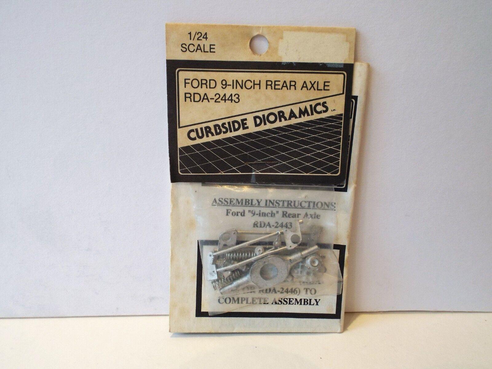 1 24 RDA-2443 CURBSIDE DIORAMICS FORD 9-INCH REAR AXLE W M KIT RARE SOC (KS4)