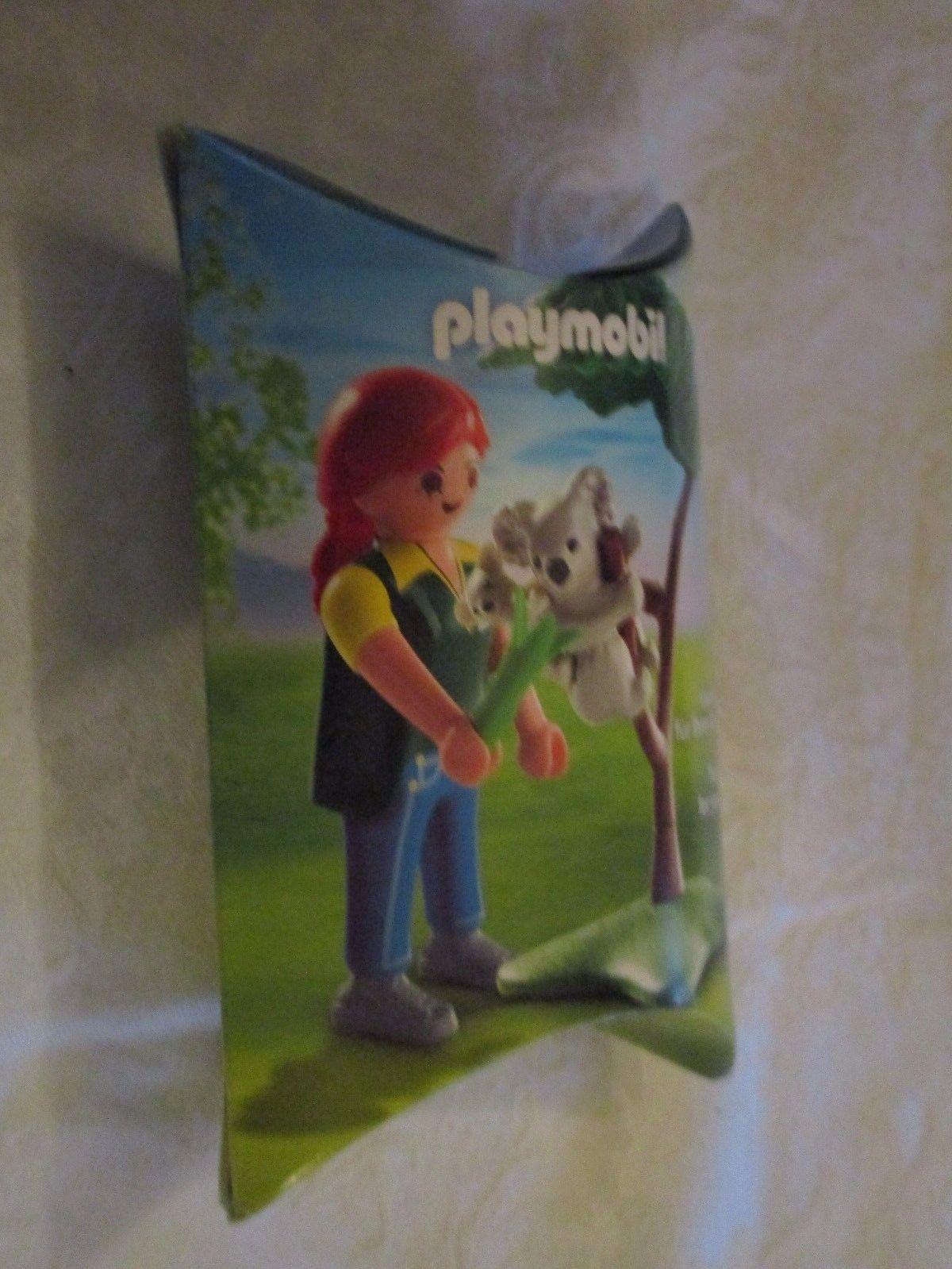 Playmobil Feeding Baby Koala Toy Fair 2013 Exclusive Set