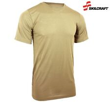 USGI NEW DSCP ARMY BROWN MILITARY T-SHIRTS 3PACK SMALL 100% COTTON multicam usmc