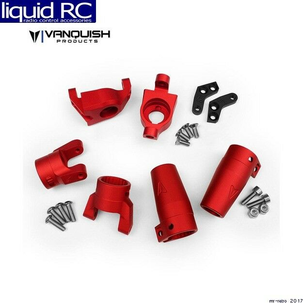 Vanquish 06513 Axial Wraith Stage One  Kit rosso Anodized  omaggi allo stadio
