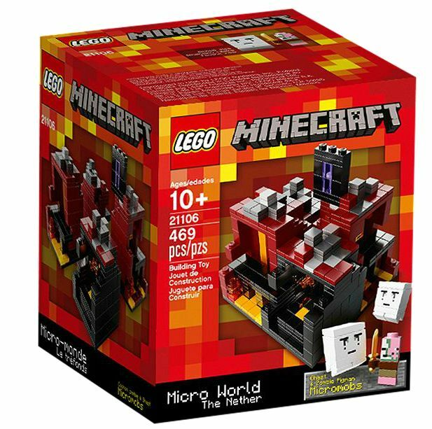 LEGO ® Minecraft ™ 21106 Micro World-The sobborghi NUOVO OVP _ NEW MISB NRFB