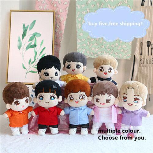 Hand-made Kpop EXO Wanna one Se Hun Doll Clothes Shirt Blouse Stuffed Gift N