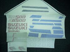 SUZUKI RG500 MK1 FULL PAINTWORK DECAL KIT