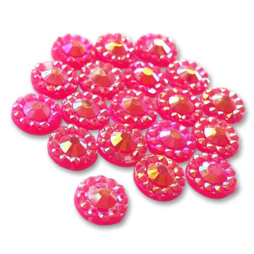 Decoden Craft Embellishments 500pcs AB 5mm Sparkle Resin Diamantes Rhinestones