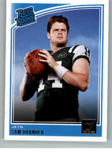 2018-Donruss-301-Sam-Darnold-NY-Jets-Rated-Rookie-NM-MT-RC-Rookie-Card