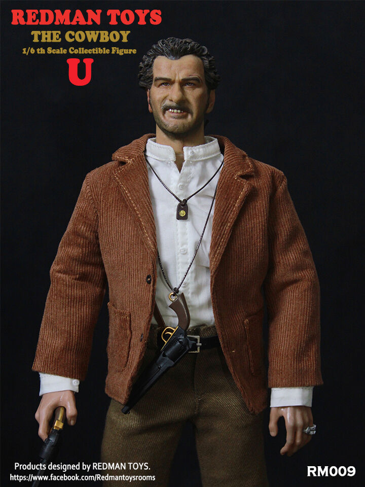 1 6 Scale Collectible Figure REDMAN TOYS COWBOY The The The Ugly RM009 Iminime the Good 89f5cd