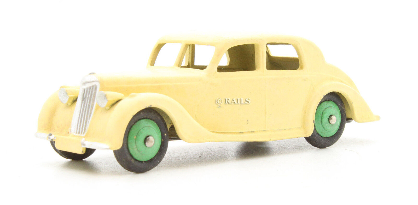 DINKY TOYS REPAINTED 158 RILEY SALOON MODEL (5H)