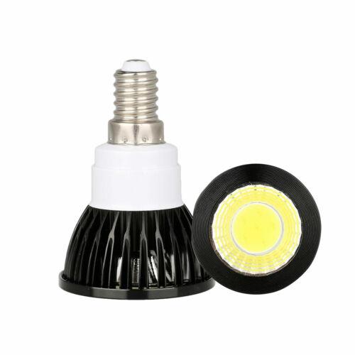 E26 E27 GU10 E14 Lamp 6W 9W 12W Ultra Bright Dimmable LED COB Spotlight Bulb RD