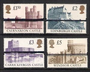 GB-1-50-2-3-5-Castle-High-Value-School-Training-Stamps-MNH