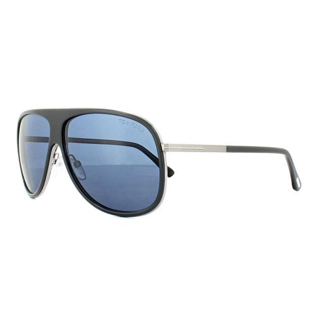 2c31b7212107 Tom Ford Sunglasses 0462 Chris 20v Dark Grey Blue for sale online