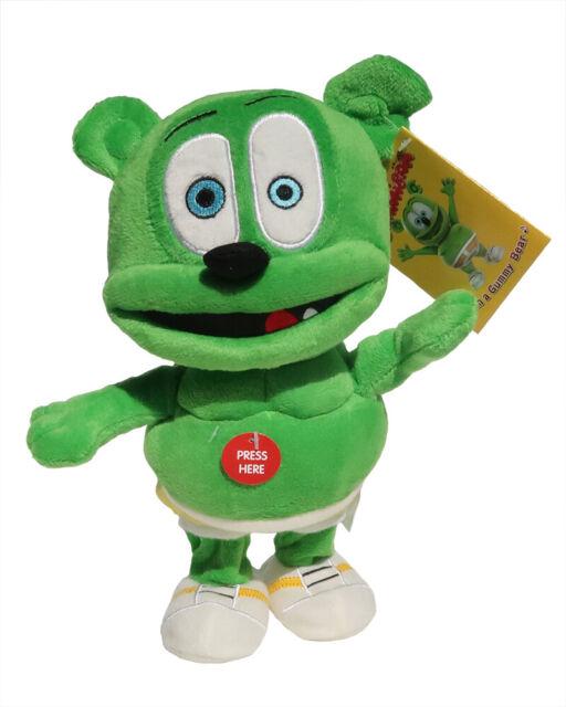 Gummibär (The Gummy Bear) Running & Singing Plush Toy