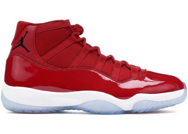timeless design dd184 7cb31 Men's Nike Air Jordan Win Like Mike 96 Retro 11 Size 16 Gym Red 378037 623