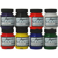 Jacquard Textile Color 8 Assorted Pigments Fabric Ink Airbrush Spray Paint Set