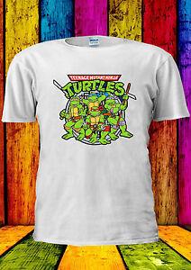 Fringant Teenage Mutant Ninja Turtles Tous T-shirt Gilet Débardeur Hommes Femmes Unisexe 2336-afficher Le Titre D'origine MatéRiaux De Choix