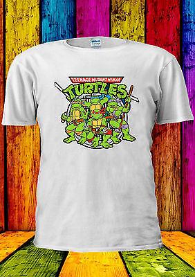 Dolce Teenage Mutant Ninja Turtles Tutti T-shirt Canotta Tank Top Uomini Donne Unisex 2336-mostra Il Titolo Originale Rinfrescante E Benefico Per Gli Occhi