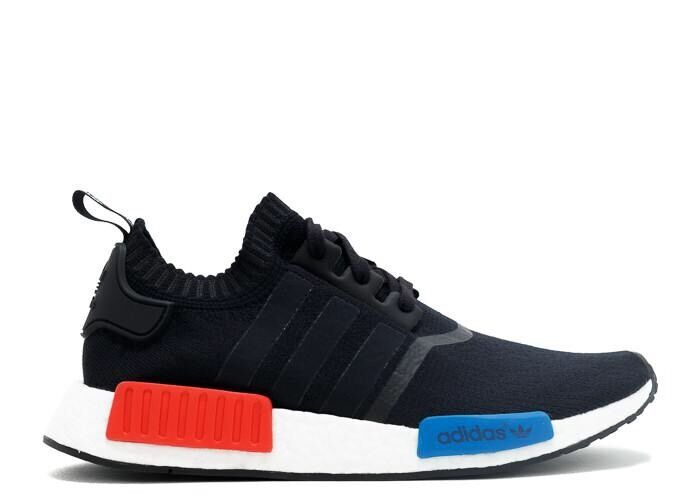 NMD R1 Black Lush Red S79168 Size 6 (38.7)