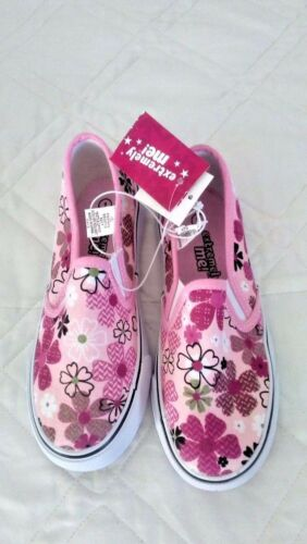 extremely me sneakers FLOWER PRINT TWIN GORE