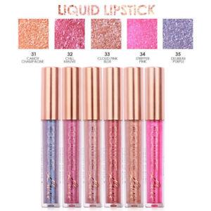 FOCALLURE-Wasserdicht-Matte-Lippenstift-Fluessigkeit-Diamant-Funkeln-Lipgloss