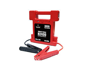 Heavy-Duty-Battery-Jump-Starter-Super-Compact-26000mAh-12-24V-switchable-w-Lamp
