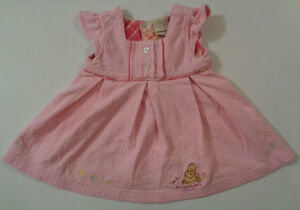 Disney s Baby Clothing Classic Pooh   Piglet Pink Dress -- Size 6 ... 026d44f7b113