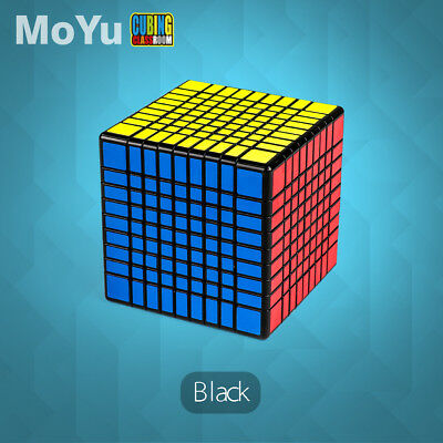 MYMF MF8 8x8x8 Speed Magic Cube Professional Twist Puzzle Funny Toys Black