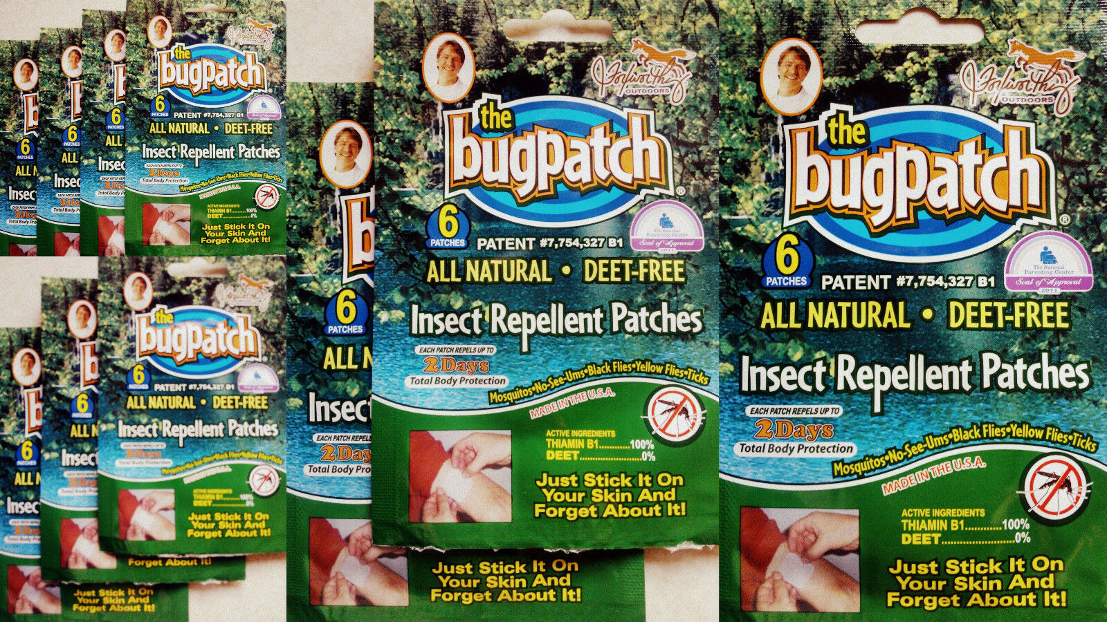 Patch Insetto Insetto Patch Repellente Per Insetti Mosi & Patch 6,12,18,24 - 60 PACCHI *** SCEGLI!!! 5e2929