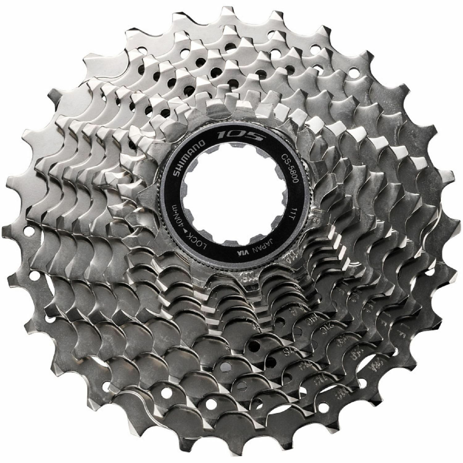Shimano 105 CS-5800 Road Bike Cassette 12-25T 11 Speed New In Retail Box
