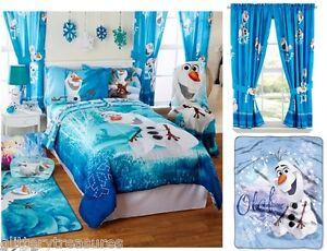 New Kids Boys Disney Frozen Olaf Bedding Bed In A Bag