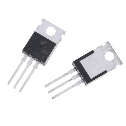 10Pcs TIP41C TIP41 NPN transistor TO-220 new and high quality H H*sg