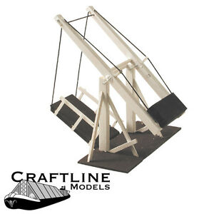 Manually Operated Wooden Lift Bridge Craftline - CAK1 - OO balsa kit - free post