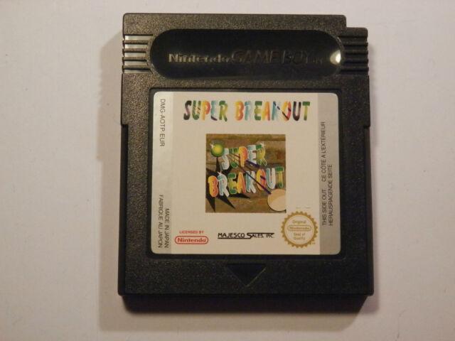 Super Breakout pour le NINTENDO GAME BOY COLOR, (panier uniquement)